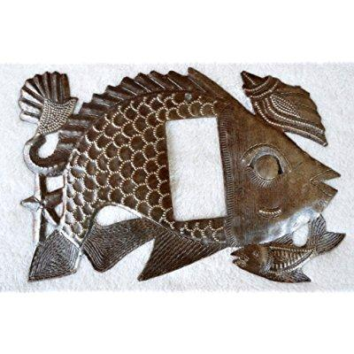 Light Covers, Fish, Sealife, Rocker, Decorative Haitian Recycle Home Art