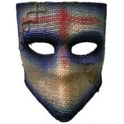 Adult's Scarecrow Medico Purple Party Festival Tie Mask Costume Accessory
