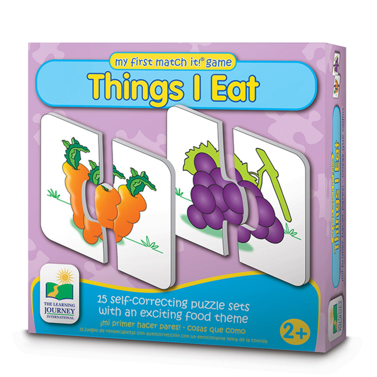 The Learning Journey My First Match It!, Things I Eat