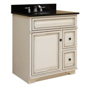 "Sunny Wood SL3021D Sanibel 30"" Maple Wood Vanity Cabinet Only"