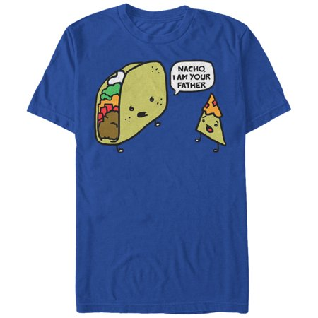 Lost Gods Taco Nacho I Am Your Father Mens Graphic T Shirt