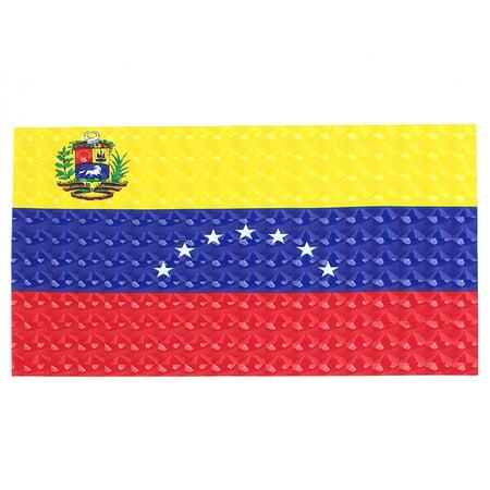 Unique Bargains Venezuelan Flag Print Vinyl 15.6  Laptop Notebook Skin Cover Decal Sticker - image 1 de 1