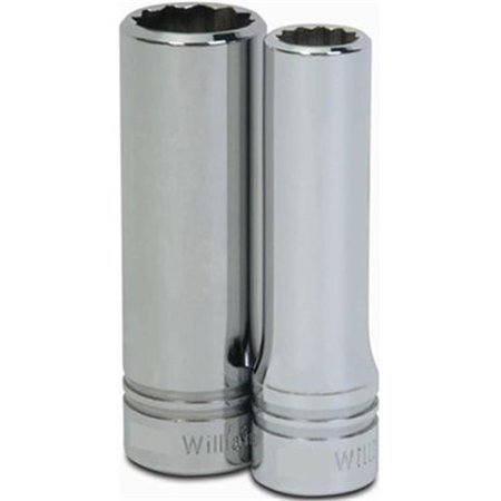 Williams & Snap On SD-1234 1.06 x 0.5 in. Drive Chrome Deep Socket - 12 Point - image 1 of 1