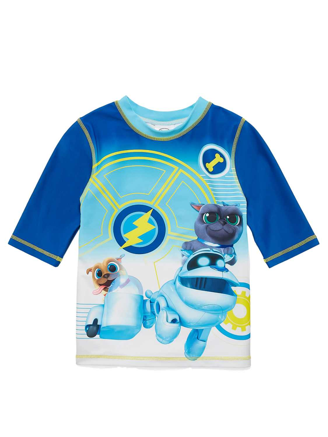 NEW DISNEY STORE PUPPY DOG PALS TEE T-SHIRT BOYS BINGO ROLLY 7//8