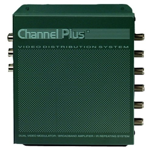 Channel Plus 3025 Whole House Video Distribution System With Dual Input Modulator And I/r Capability