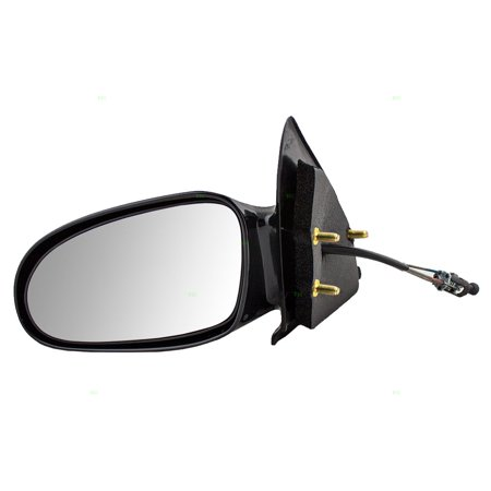 BROCK Manual Remote Side View Mirror Driver Replacement for 96-02 Saturn S-Series Sedan & Wagon 21170589