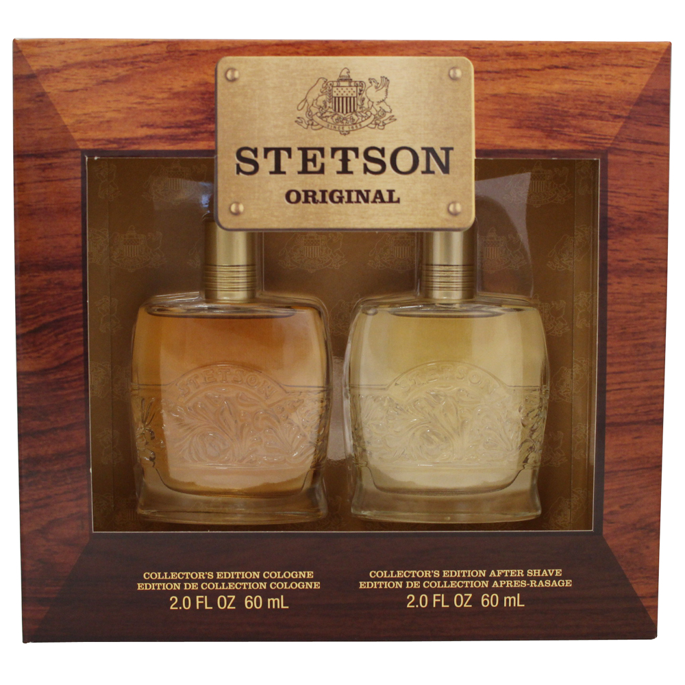 Stetson 2 Pc. Gift Set ( Cologne 2.0 Oz + Aftershave 2.0 Oz )