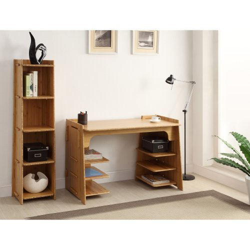 Legare Craft Bookcase - Amber Bamboo