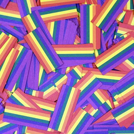Rainbow Tissue Confetti by Ultimate Confetti (Rainbow Confetti)