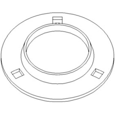87430561 New Bearing Flange Made to fit Case-IH Combine