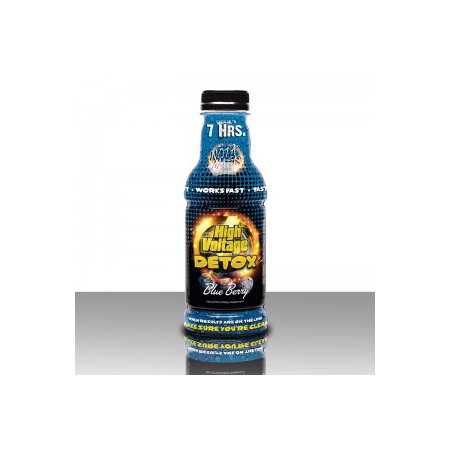 High Voltage Detox Drink 16 oz. Blueberry Flavor (The Best Detox Drink To Pass A Drug Test)