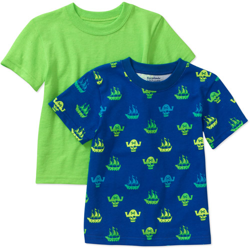 Garanimals 2-Pack Baby Toddler Boy Short Sleeve Tee Shirts