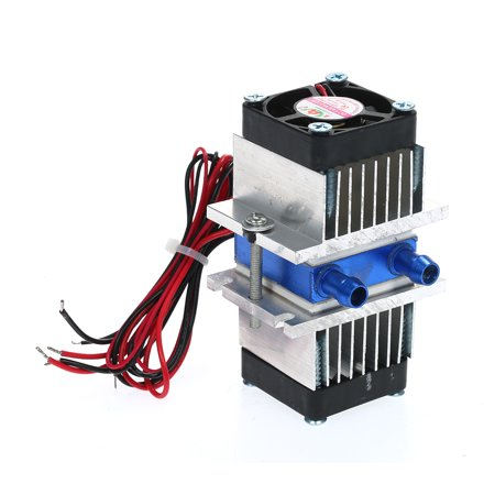 TEC Electronic Semiconductor Thermoelectric Cooler Peltier Refrigeration TEC1-12706 Cooler+Water Cooling System Cooler Refrigeration Package