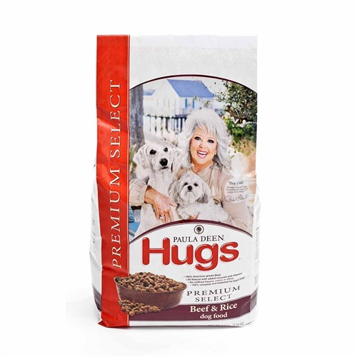Hugs Pet Products Paula Dean Premium Select Dog Food Beef And Rice 22.5 lbs. Beef and Rice 22.5 lbs.