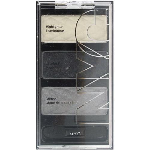 NYC New York Color HD Trio Eye Shadow Palette, Skyrise Steel