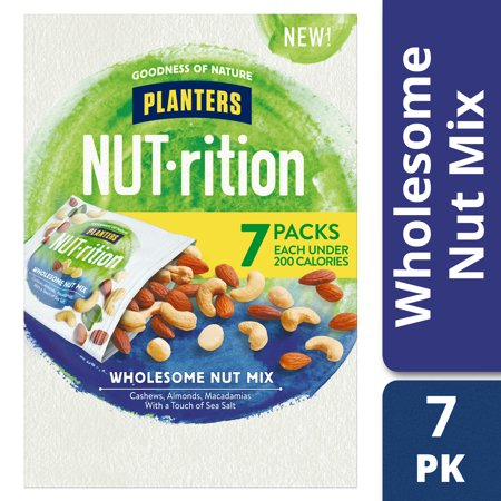 Planters NUT-rition Wholesome Nut Mix, 7 ct - 7.5 oz Box