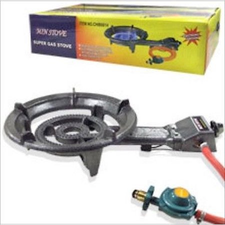 - Portable Lpg Propane Gas Outdoor Camping Burner Stove Top Cast Iron Stovetop
