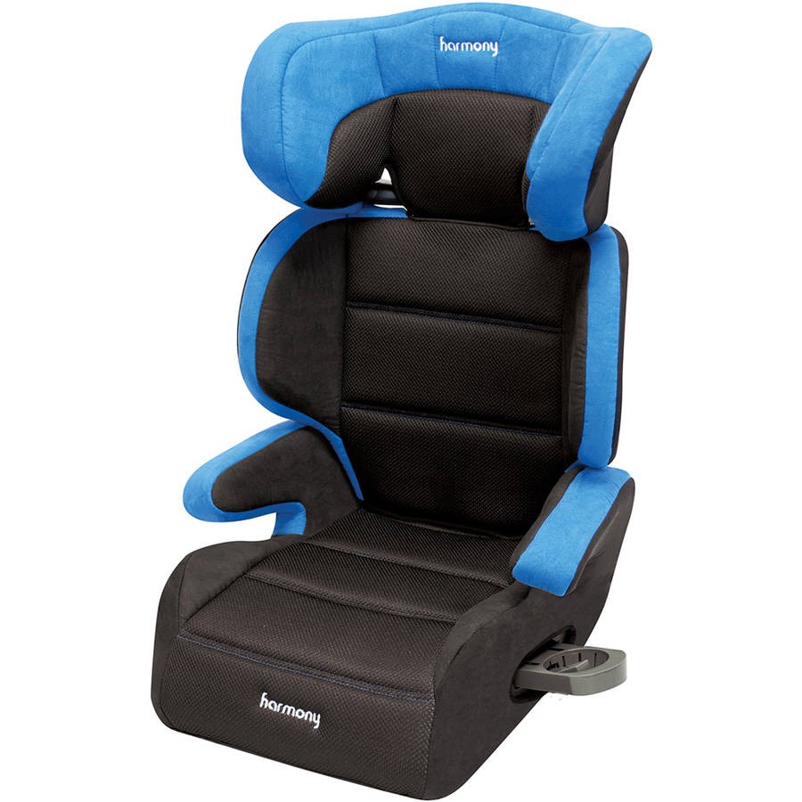 Harmony Juvenile Dreamtime Deluxe Comfort High Back Booster Car Seat, Blue