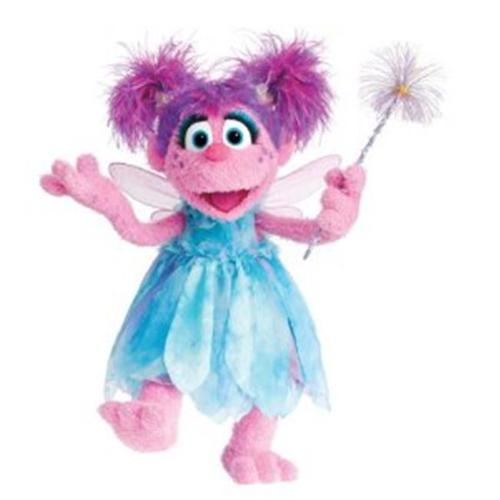 Sesame Street - Abby Peel and Stick Giant Wall Decal