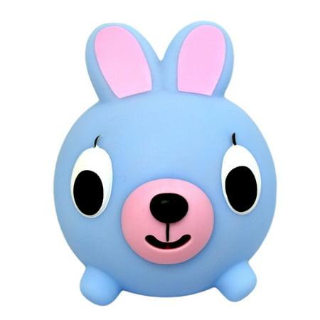 Jabber Ball Bunny - Blue - Jolly Jabber