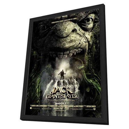 Jack the Giant Slayer (2013) 11x17 Framed Movie Poster Giant Framed Poster