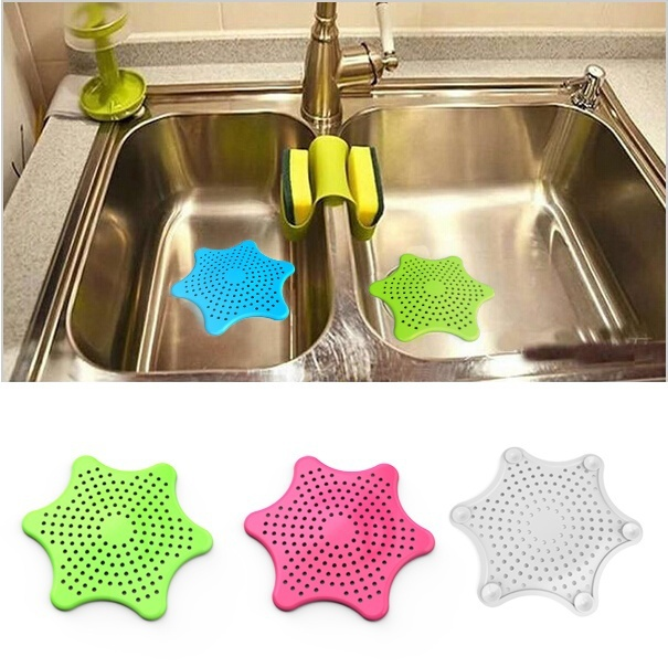 New Bathroom Drain Hair Catcher Bath Stopper Sink Strainer Filter Shower Covers