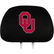 Oklahoma NCAA Head Rest Cover