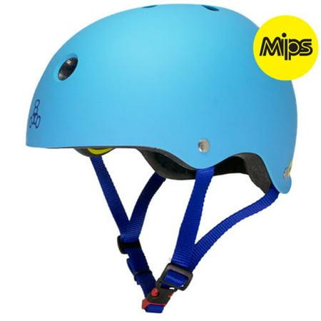 Eps Summer Bicycle Helmet (Triple Eight II MIPS Dual Certified Bicycle/Skate Helmet with EPS Liner)