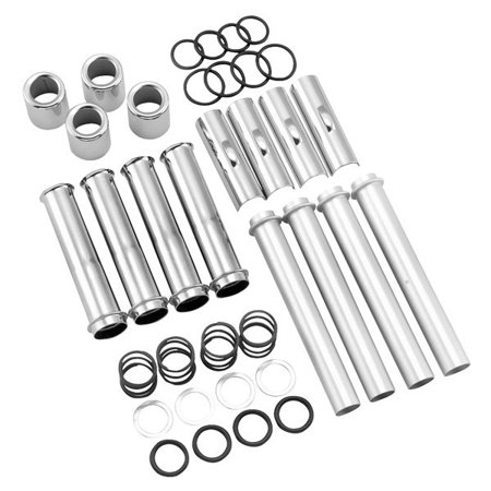 TWIN POWER 76520S6 Bikers Choice Pushrod Cover Kit for Harley Twin Cam 99-09