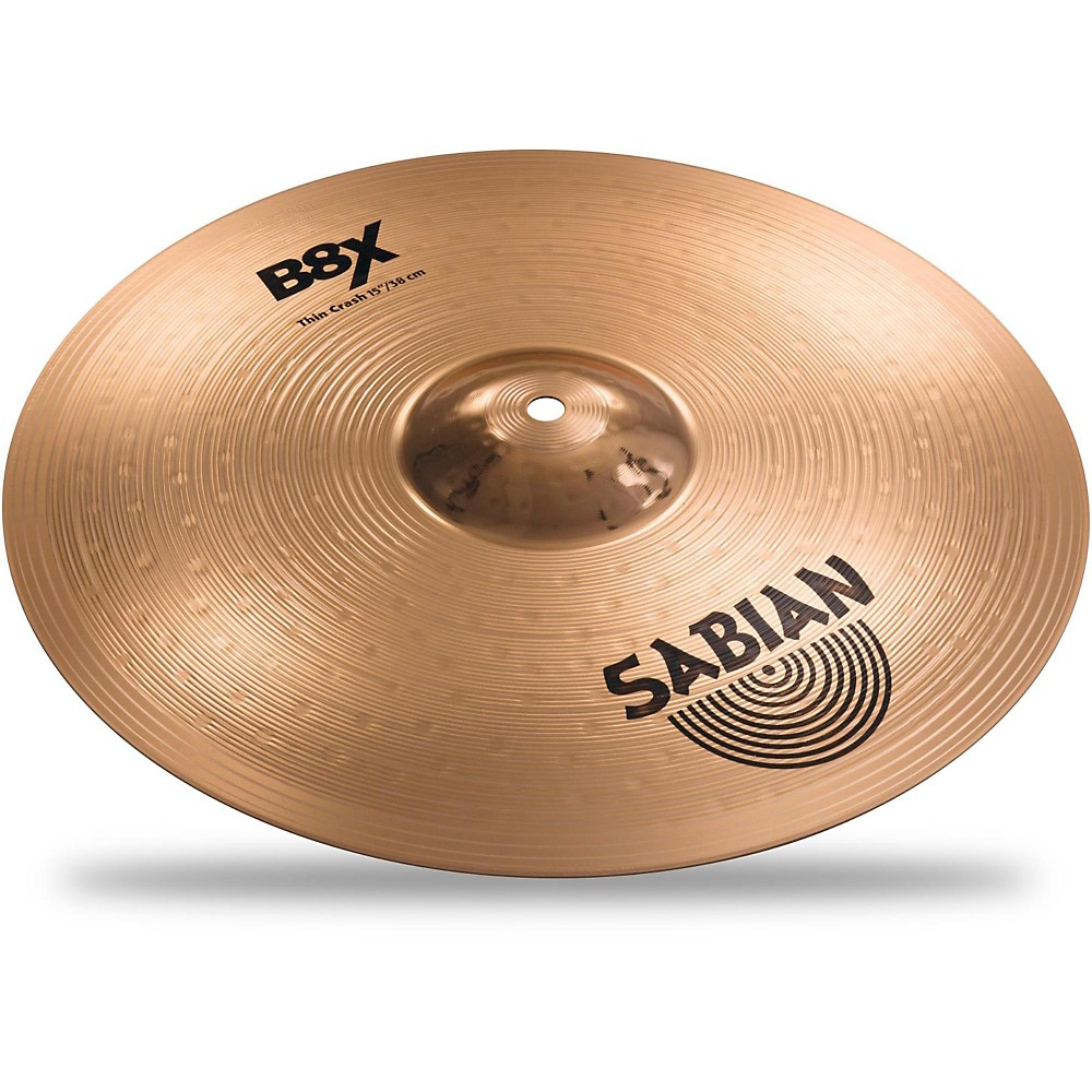 Sabian B8X Thin Crash Cymbal 15 in.