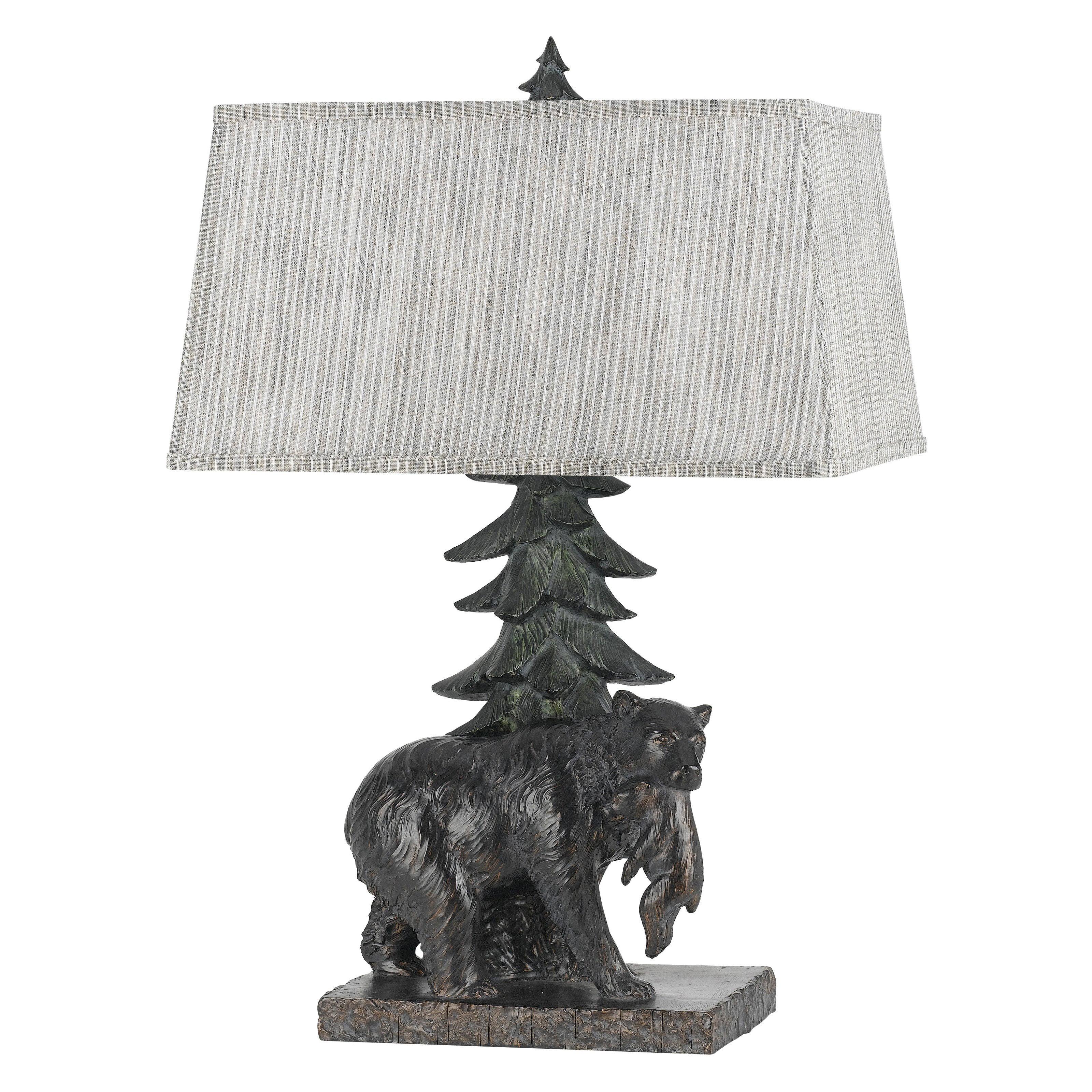 Cal Lighting Bear BO-2595 Table Lamp by CAL Lighting