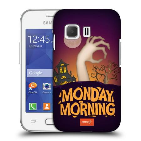 OFFICIAL EMOJI HALLOWEEN PARODIES HARD BACK CASE FOR SAMSUNG PHONES 3
