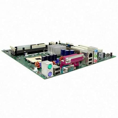 Refurbished-IntelD845HVLSocket 478 Supports Intel Pentium 4 processors.Intel 850 chipset FSB 400. 3 x PC-133 168 pin SDRAM DIMM sockets for up to 3GB of memory. 3 x PCI, 1 x AGP slot. On-Board 4 X Agp Slot