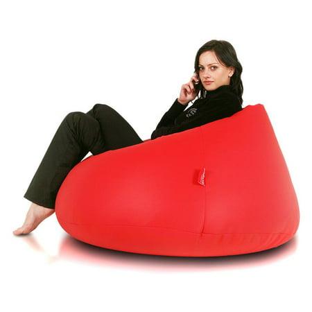 Turbo Beanbags Relax Large Bean Bag Chair Walmart Com