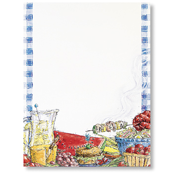 Great Papers 972220 Summer BBQ Letterhead - 80 Sheets/Pack