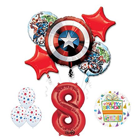 The Ultimate Avengers Super Hero 8th Birthday Party Supplies (The Avengers Party Supplies)
