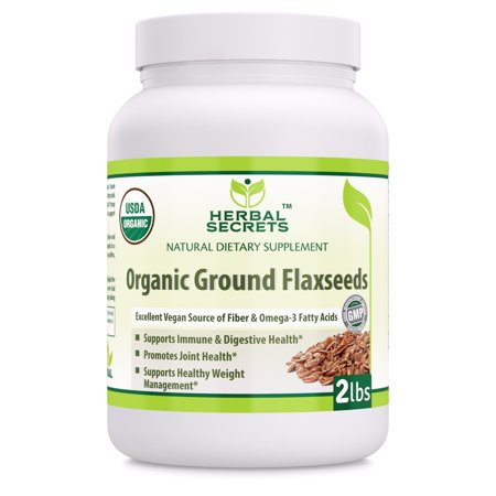 Herbal Secrets Organic Ground Flaxseed - 2