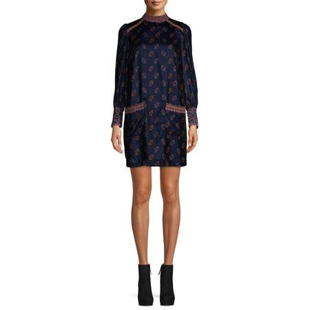 Sui by Anna Sui Women's Folk Velvet Dress
