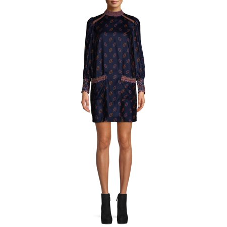 Sui by Anna Sui Women's Folk Velvet Dress
