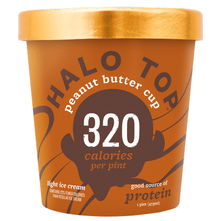 Halo Top Creamery Ice Cream, Multiple Flavors Available, Case of 8 (The Best Halo Top Flavors)