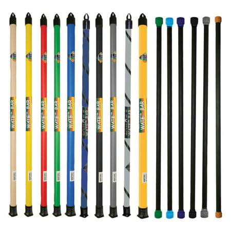 CanDo Slim Weight Bar, 16-piece Set, 1, 2, 3, 4, 5, 6, 7, 8, 9, 10, 12.5, 15, 17.5, 20, 22.5, 25 (Best Cando Weight Bars)