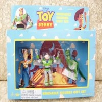 1996 Toy Story Bendable Figures Gift Set