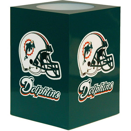 NFL Flameless Candle, Miami Dolphins