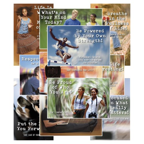 Northstar Teacher Resource Teen Talk Bulletin Board Cut Out Set