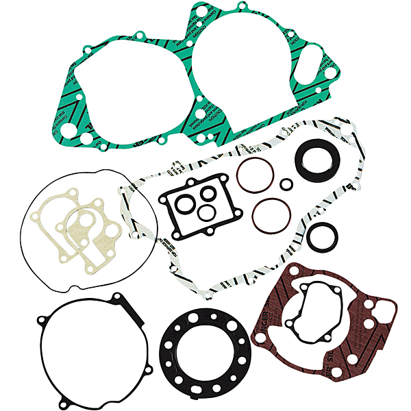 Moose Racing Complete Gasket Set With Oil Seals Fits 07-10 Kawasaki KX85