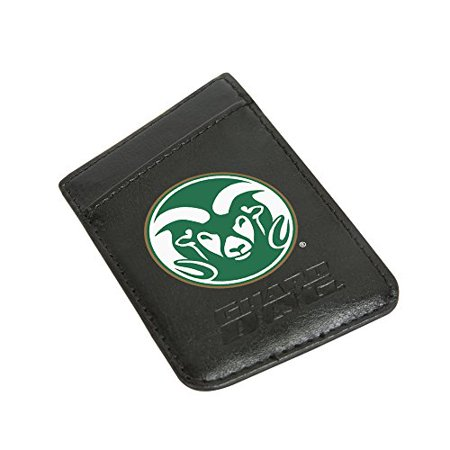 Colorado State Rams Card Keeper Leather Phone Wallet with RFID Protection