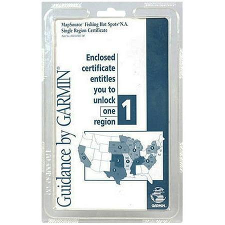 - Garmin 0101030700 Single Certificate
