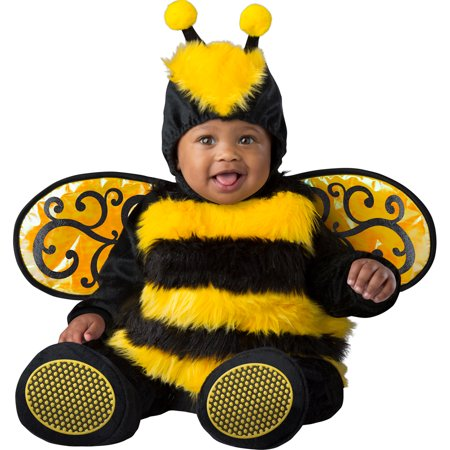 Infant Baby Bumble Bee Halloween Costume](Toddler Halloween Costumes Bumble Bee)