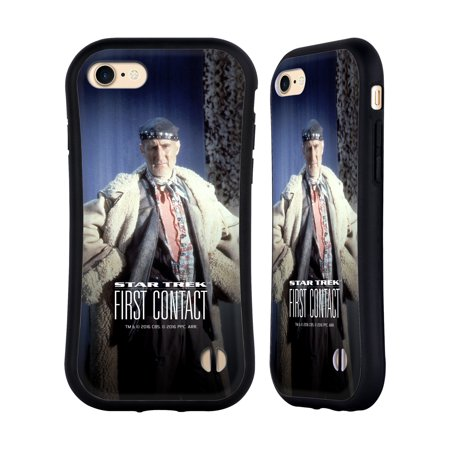 OFFICIAL STAR TREK ZEFRAM COCHRANE FIRST CONTACT TNG HYBRID CASE FOR APPLE IPHONES PHONES](Costume Contact)