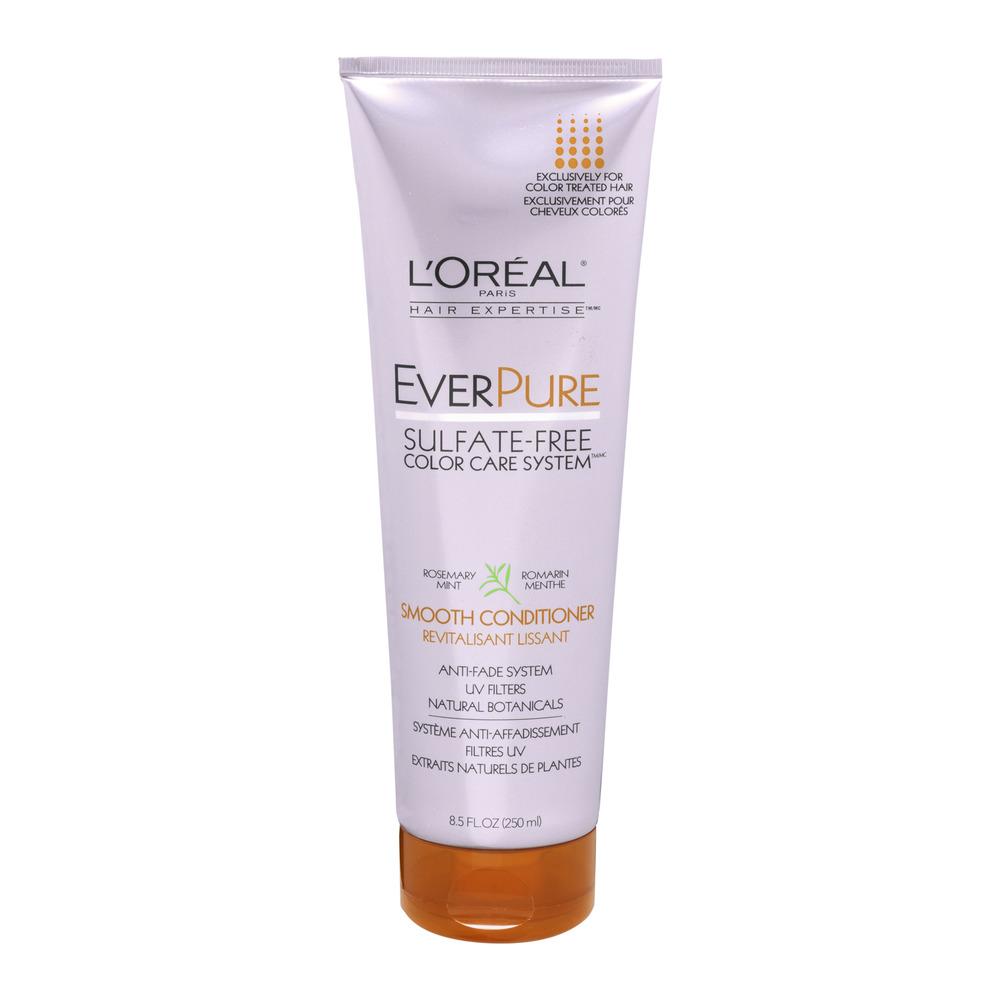 L'Oreal Paris Hair Expertise EverPure Smooth Conditioner, 8.5 FL OZ